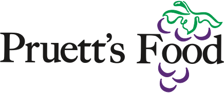 A theme logo of Pruett's Food